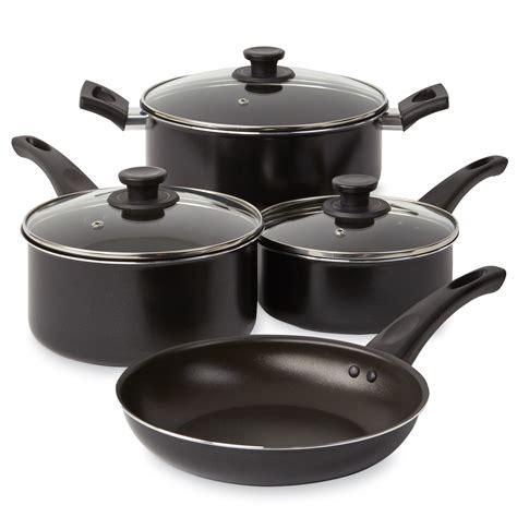 cookware non stick aluminum pc essential sets pots pans kmart kitchen durable gift popular nonstick sears market 7pcs factory cheap