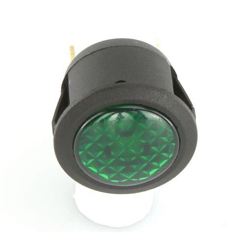 dia green 23mm dia green led warning light car builder solutions
