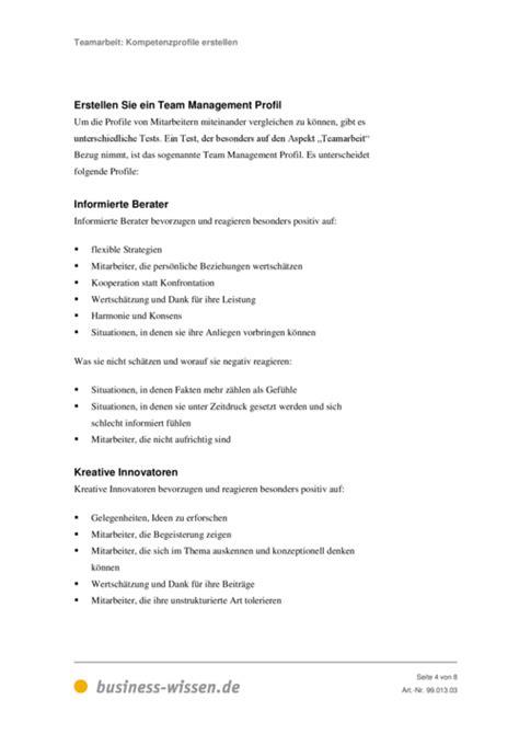 kompetenzprofile erstellen vorlage business wissende