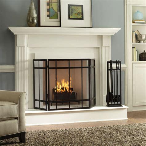 modern fireplace screen best interior design house