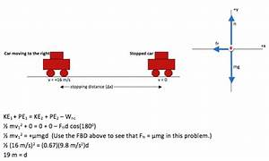 Multi-part Force Problem  Stopping Distance