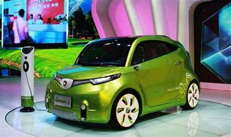 Green Car Electric by Tiny Lime Electrocars Chana Green I Electric Car