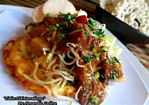 resep tahu tek surabaya oleh amanda zafira cookpad