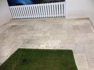 nettoyage dalles de terrasse With nettoyage terrasse dalles gravillonnees