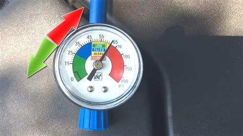 car ac pressure  high fix overcharged ac gauge