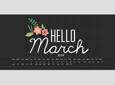 March 2018 Calendar For Canada Calendar 2018