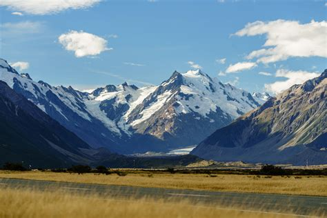 New Zealand Mount Cook To Christchurch —