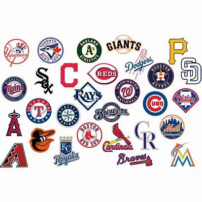 Mlb Team Decals Licensed Wall Officially Removable