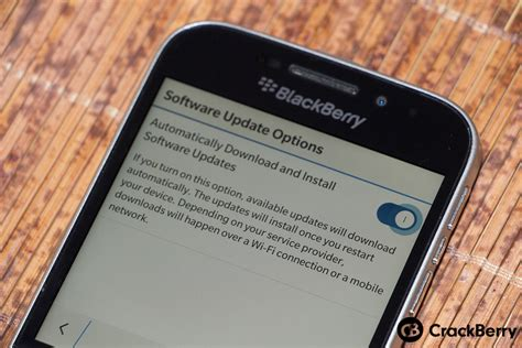 how to disable automatic os updates on blackberry 10 crackberry