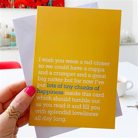 Browse the latest miss you card templates to get started. Tiny Chunks Of Happiness : Miss You Card For Loved Ones - The Right Lines