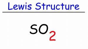 So2 Lewis Dot Structure
