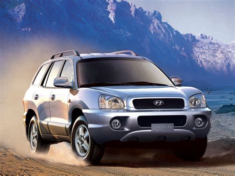 The 2021 hyundai santa fe features a wider, more aggressive front grille, digital display and a panoramic sunroof. HYUNDAI Santa Fe specs & photos - 2000, 2001, 2002, 2003 ...