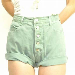 Jeans Shorts Vintage High Waisted Jeans Shorts