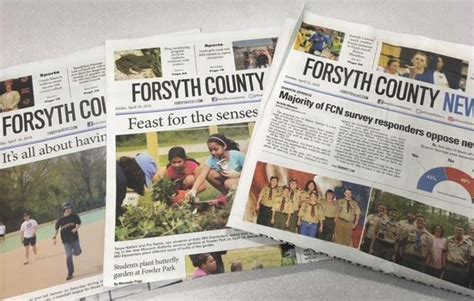 norman baggs newspapers face hard road stay business forsyth