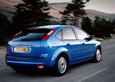 2004 Ford Focus Tdci 5door Eu Version Hd Pictures