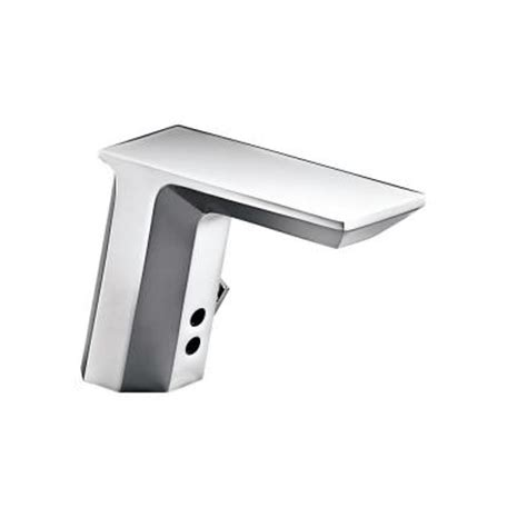 touchless bathroom faucet kohler kohler geometric battery powered single touchless