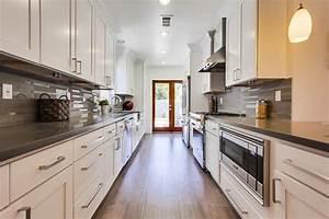 25 Stylish Galley Kitchen Designs - Designing Idea