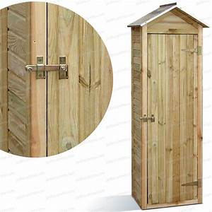 Petite Armoire De Rangement : armoire de rangement bois fsc mobilier de jardin ~ Dailycaller-alerts.com Idées de Décoration