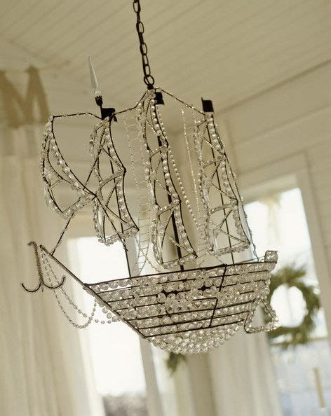 photos ships and chandeliers on