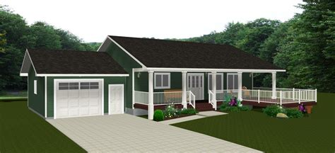 Basement Garage Door by Bungalow House Plans By E Designs Page 9