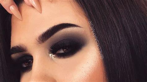 classic black smokey eye makeup tutorial youtube