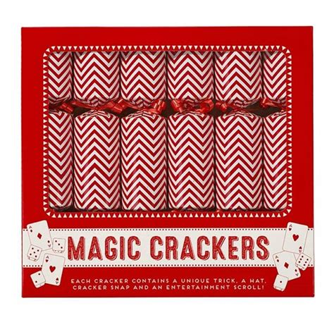 magic chevron christmas crackers by hope and willow