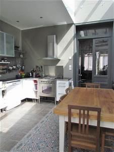 Cuisine Carreau De Ciment : cuisine avec carreaux de ciment 8 photos lolavalerie ~ Melissatoandfro.com Idées de Décoration