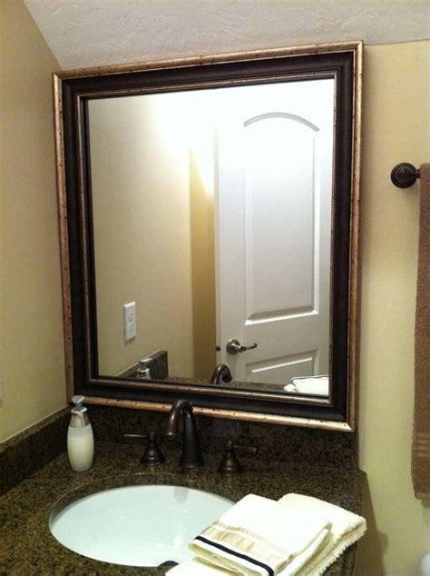 uttermost oval mirror mirror frame kit traditional bathroom mirrors salt