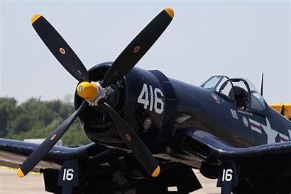 Corsair F4u Vought Airplane Aircraft Spitfire Yellow