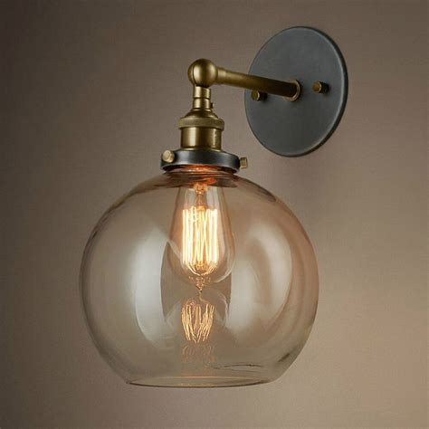 light bulbs for wall sconces vintage bronze swing arm indoor glass sconce wall l