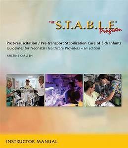The S T A B L E  Program Instructor Manual  6th Edition