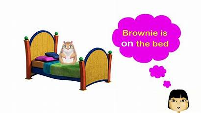 Behind Under Clipart Prepositions Between English Song