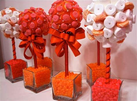 11 Diy Candy Party Decor & Centerpiece Ideas Contemporary Bathroom Vanity Lights Over Cabinet Light Gray Wood Tile Pictures Of Lighting Orange And Ideas Ventless Exhaust Fan With Menards Kids Decals