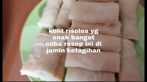 Risoles isi bihun dan sayur. Cara bikin kulit risoles - YouTube