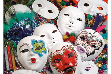 masques et loups blancs 224 d 233 corer qualit 233 sup 233 rieure masques loups supports 224 d 233 corer 10