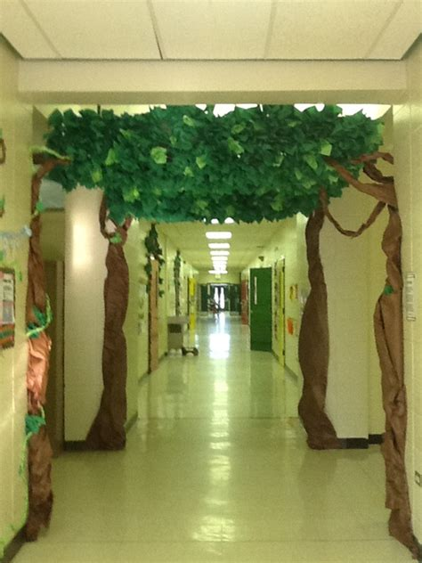 Spring Kindergarten Door Decorations by Camping Theme Classroom Tree Classroom From Katie