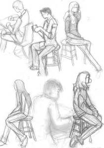 Pencil Drawings of People