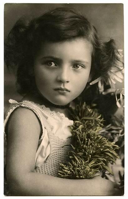 Child Face Amazing Eyes Fairy Children Antique