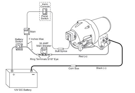 shurflo pump wiring diagram wiring schematic diagram