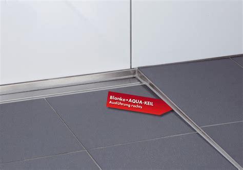 Bodenebene Dusche Gefälle by Blanke Gef 228 Lle Und Duschprofile Ais De