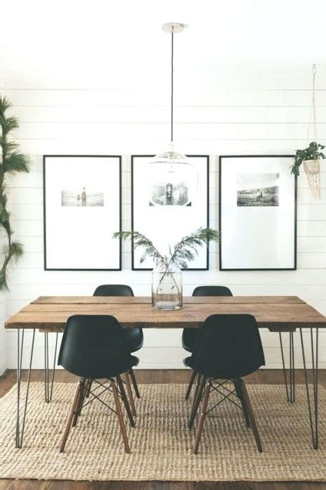 find minimalist dining room design ideas beautified rustic accents