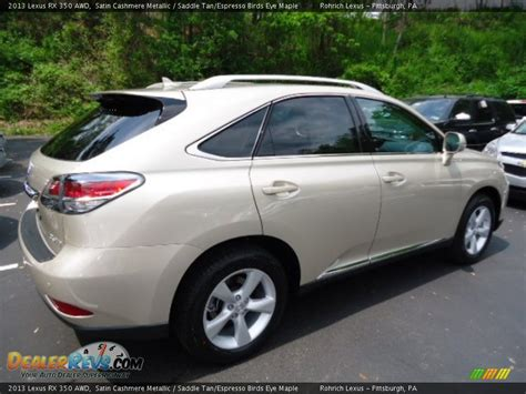 lexus satin cashmere metallic 2013 lexus rx 350 awd satin cashmere metallic saddle tan