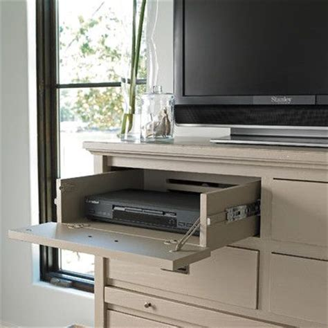 genius drawer  hide tv cable box olive home table
