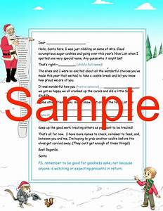 free personalized santa letters With cheap personalized letters from santa