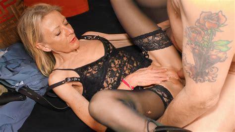 Slender Blonde German Granny Margit S Gets Fucked And