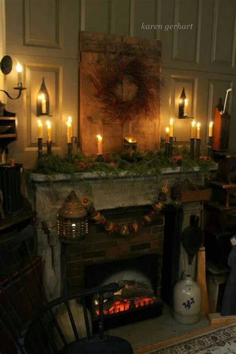 Primitive Decorating Ideas For Fireplace by 8cceb570b67ce8c7d61ab710051add7f Jpg 640 215 960 Pixels