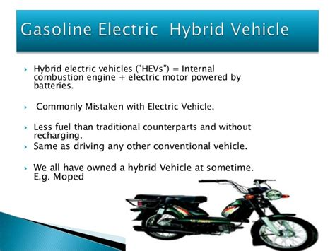 Advantages Of Hybrid Vehicles Pdf