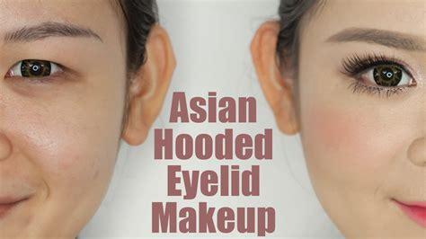 asian hooded eyelids makeup youtube