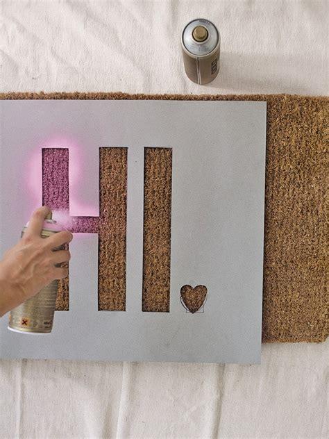 Creative Doormats how to get creative with diy door mats homesthetics