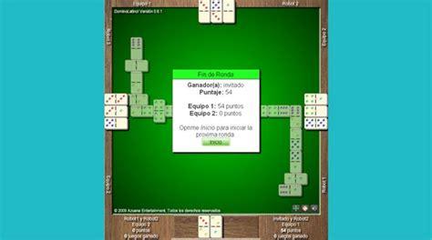 domino latino juego gratis en jugarmaniacom